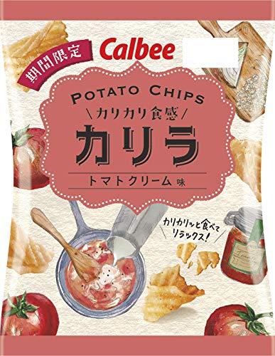 カルビー ポテトチップスカリラ トマトクリーム味 60g ×12袋