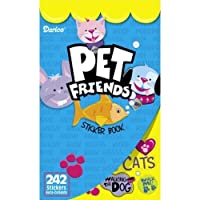 WeGlow International Pet Friends Sticker Books, Set of 4 [並行輸入品]