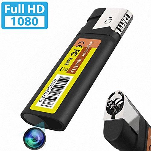 HD 1920x1080P 高画質 ライター型ミニスパイカメラビデオカムコーダー3.5時間連続録画録音 繰り返し録画機...
