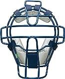 ゼット(ZETT) 少年野球 キャッチャーズギア 少年軟式キャッチャー用マスク ネイビー×シルバー(2913) BLM7010C
