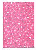 西川産業 babypuff 変わり織りケット 85×115cm ピンク 綿100% LFY5501035-P LF1037