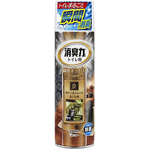 RoomClip商品情報 - トイレの消臭力スプレー 消臭芳香剤 トイレ用 トイレ 炭と白檀の香り 330ml