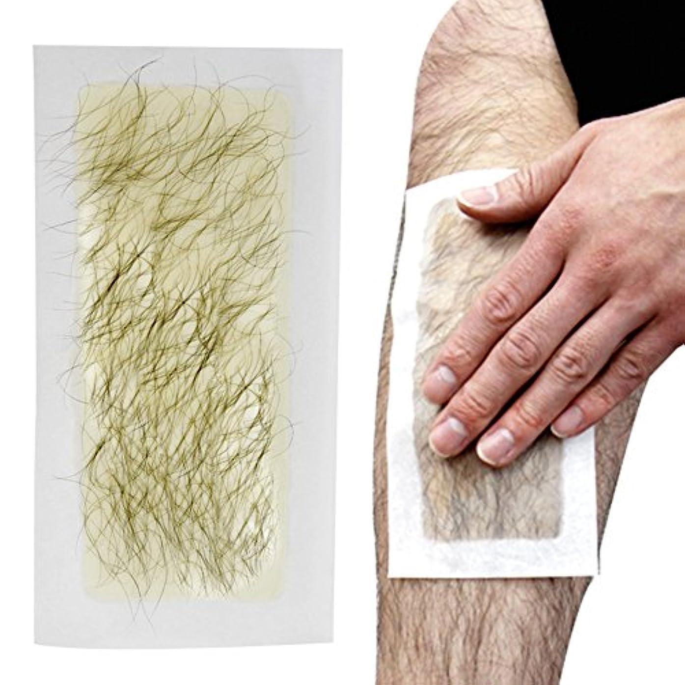 ハチスポット破壊する脱毛シート 100回分 ブラジリアンワックス 処理 お手軽美人 脱毛纸 脱毛テープ