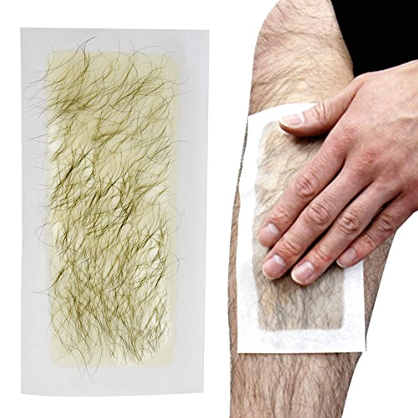 便利さ調和のとれた薄める脱毛シート 100回分 ブラジリアンワックス 処理 お手軽美人 脱毛纸 脱毛テープ