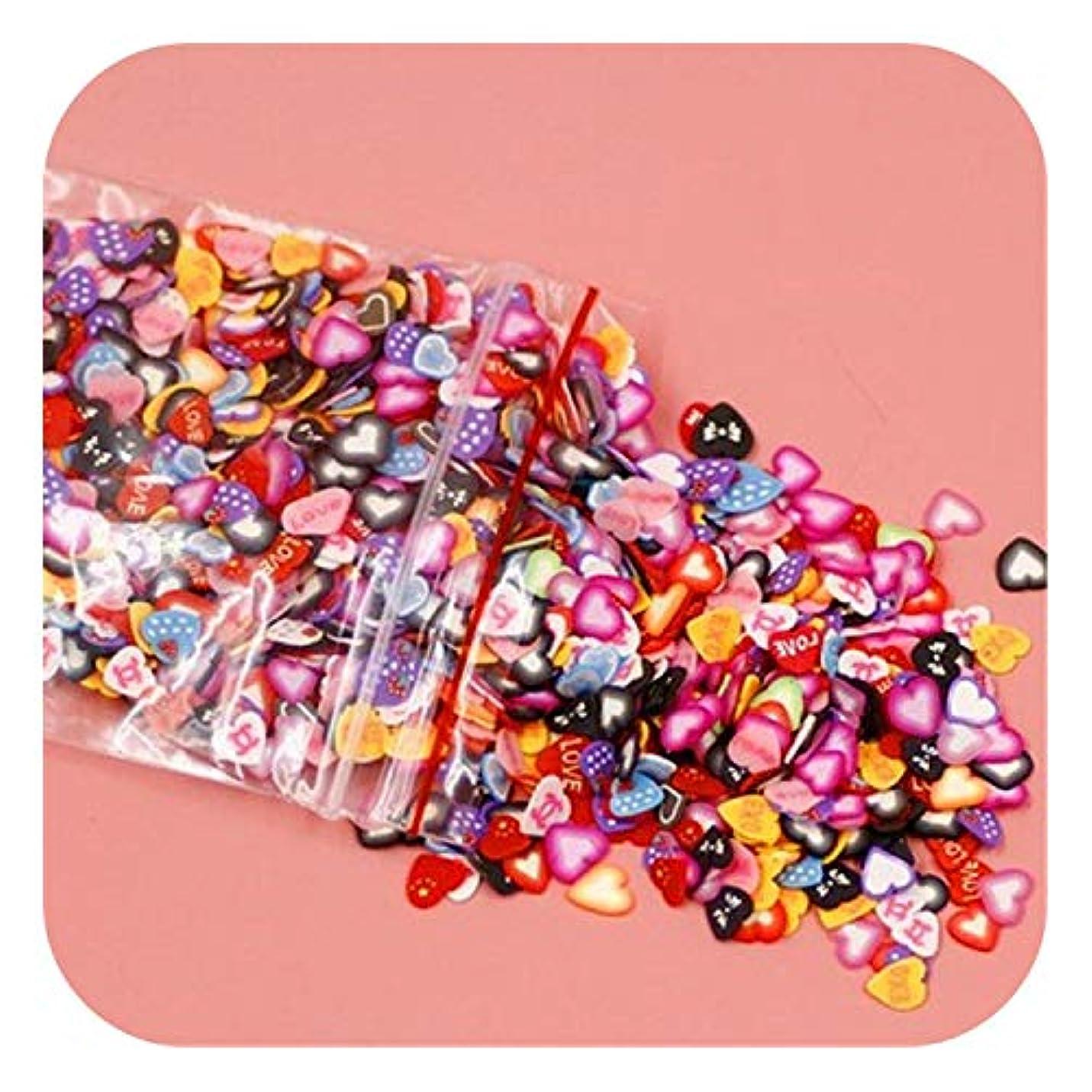 パースブラックボロウ賢明な縫うプラスチシン追加ソフトセラミックフルーツピース1000個混合フルーツバーネイルジュエリーパッチDiy用品,11