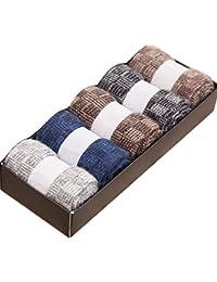 Sumery 防寒 カシミヤ制 厚いソックス 快適 礼装用 5色セット