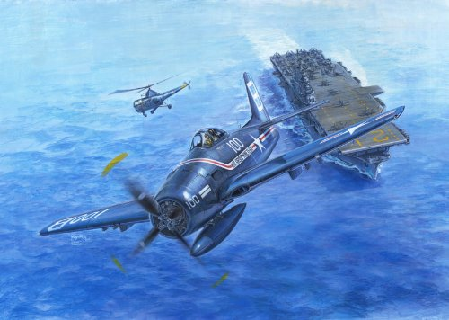 モノクローム 1/32 グラマン F9F-1 ベアキャット