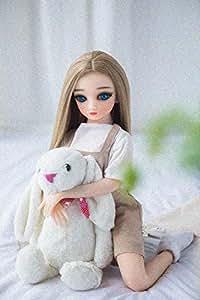 リアルドール セックスドール かわいい人形 オナホ LOVE DOLL 高級TPEシリコン 人形 かわいい メタルスケルトン 女性 ボディモデル (65CM)