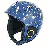 SWANS(スワンズ) ジュニア スキー・スノーボードヘルメット H-55 BLBL ブルー×ブルー