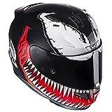 HJC(エイチジェイシー)バイクヘルメット フルフェイス VENOM(MC1) (サイズ:M) MARVEL RPHA11ベノム HJH112