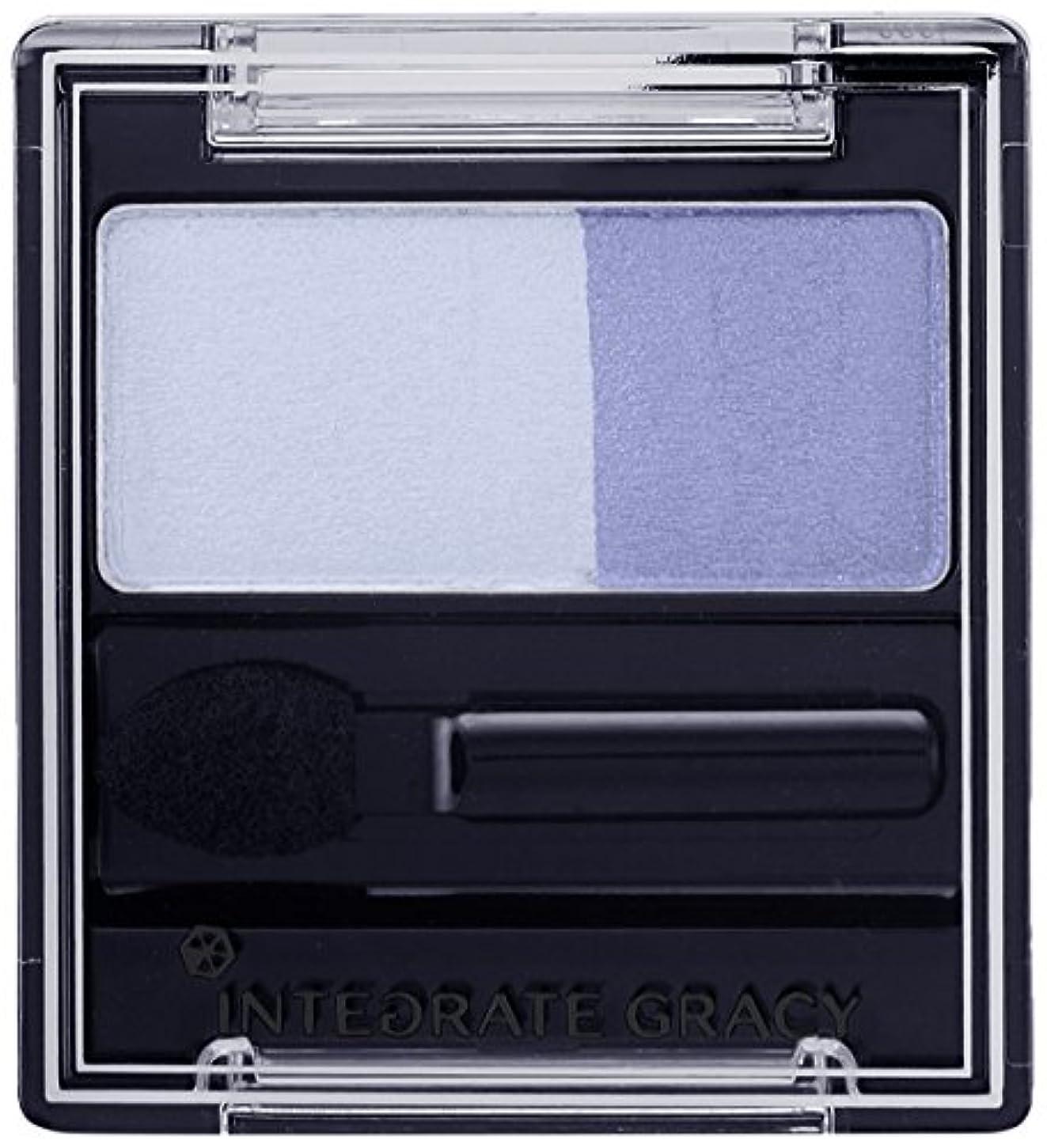 ジョージスティーブンソン偏差霧深いインテグレート グレイシィ アイカラー ブルー283 (アイシャドウ) 2g