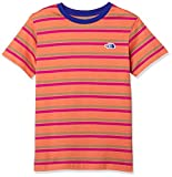 [ザ・ノース・フェイス] Tシャツ ショートスリーブボーダーティー キッズ ザイオンオレンジ 日本 140 (日本サイズ140 相当)