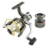 滑らかな金属のスピン釣り用リールNARITAX5 3000-6000 シリーズ 9+1 BB 鯉の餌ランナの釣りの輪 (X5-4000)