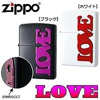 ZIPPO(ジッポー) ライター LOVE ■2種類の内「ブラック・63330198」を1点のみです