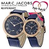 マーク ジェイコブス ペアウォッチ ライリー RILEY 腕時計 MJ1577 MJ1575 ネイビー [並行輸入品]