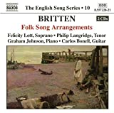 The English Song Series 10: Britten (2005-03-22)