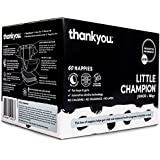 Thankyou Baby Nappies, Boys & Girls, Little Champion, Junior 16kg+ (60 Count)