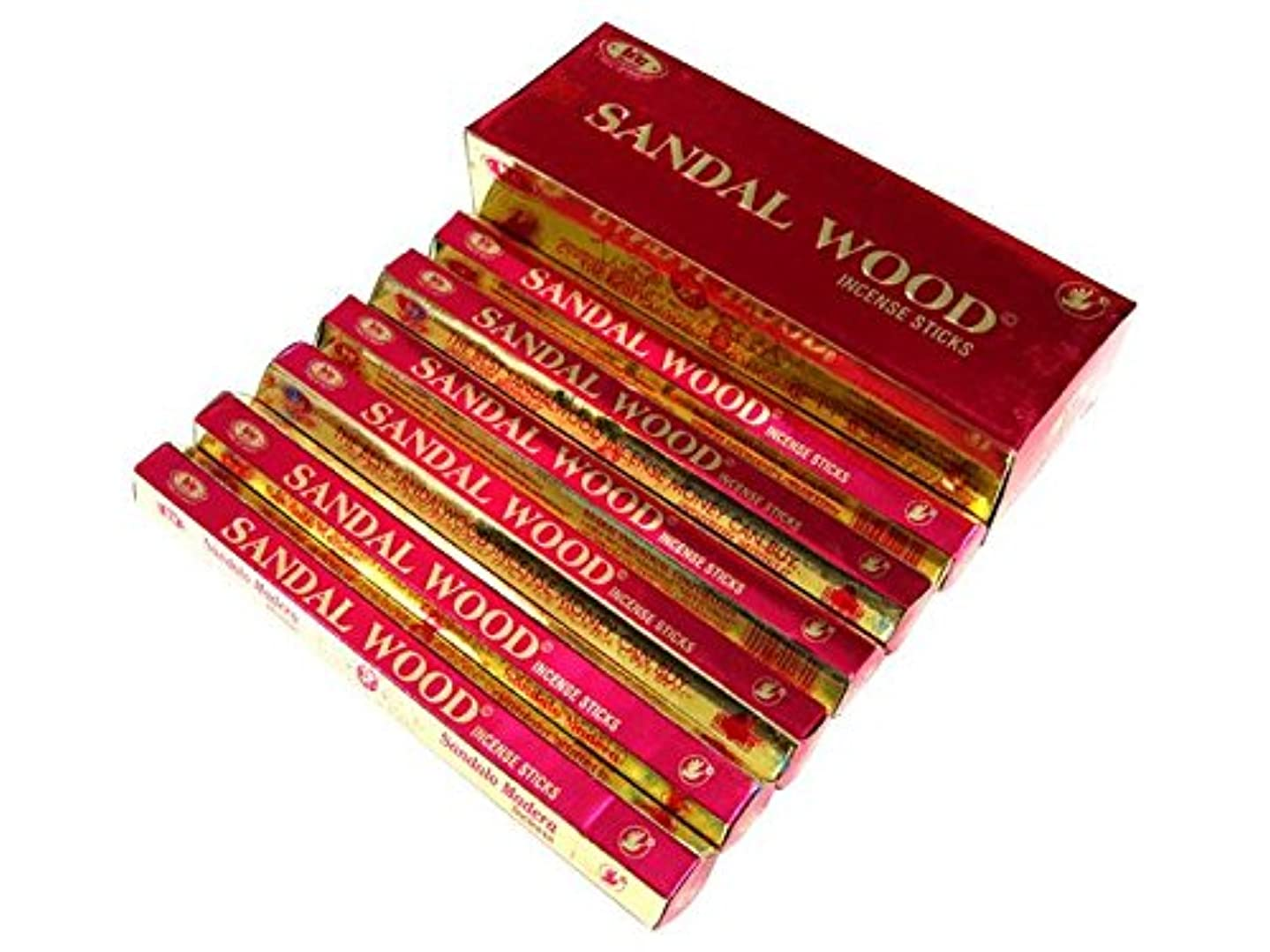 私の愛撫雇用者BIC(ビック) サンダルウッド香 スティック SANDAL WOOD HEXA 6箱セット
