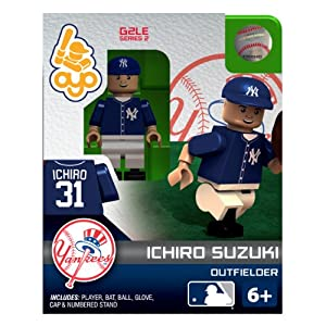 MLB メジャーリーグ New York Yankees ICHIRO SUZUKI Building-Toy Figure フィギュア ダイキャスト 人形