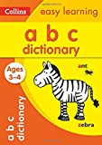 Collins Easy Learning - Picture Dictionary Ages 3 to 4 (Collins Easy Learning Preschool)