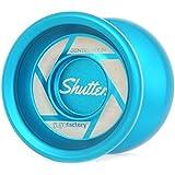 シャッター ライトブルー YoYoFactory/ヨーヨーファクトリー フルメタルヨーヨー 世界チャンピオン