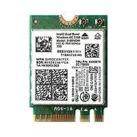 Lenovo純正 04X6034/04X6076 Intel Dual Band Wireless-AC 3160 433Mbps 802.11ac + Bluetooth 4.0 M.2 無線LANカード 3160NGW for Lenovo Thinkpad E450 E450c E455 E550 E550c E555 G50 Z50
