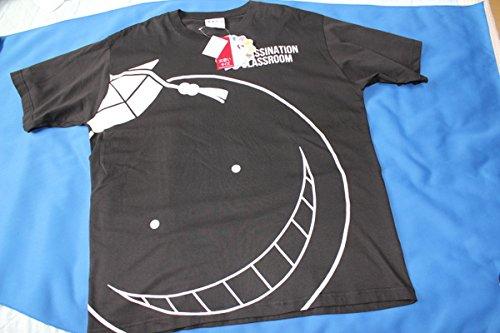 しまむら 暗殺教室 殺せんせー 半袖Tシャツ 3L 黒...