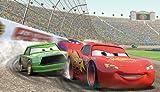 海外直輸入 カーズ 大人気 未発売 正規品 レア フィギュア フィギア 飛行機 クリスマス おもちゃ RoomMates JL1234M Disney Pixar Cars Chair Rail Prepasted Mural 6-Foot by 10.5-Foot - Amazon.com【JOY】