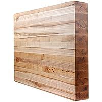 """KobiブロックMapleエッジGrain Butcherブロック木製カッティングボード22"""" x 22"""" x 2"""""""