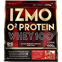 IZMO -イズモ- O2プロテイン 1kg ストロベリー風味