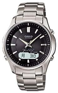 [カシオ]CASIO 腕時計 LINEAGE リニエージ タフソーラー電波時計 チタンモデル MULTIBAND6 LCW-M100TD-1A3JF メンズ