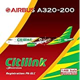Phoenix 1:400 Scale Diecast Aircraft Citilink A320-200