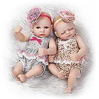 ピンキー26 cm 10インチMiniハードビニールシリコンフルボディRebornベビー人形Twinsリアルな新生児2ガールズ人形クリスマス誕生日プレゼント