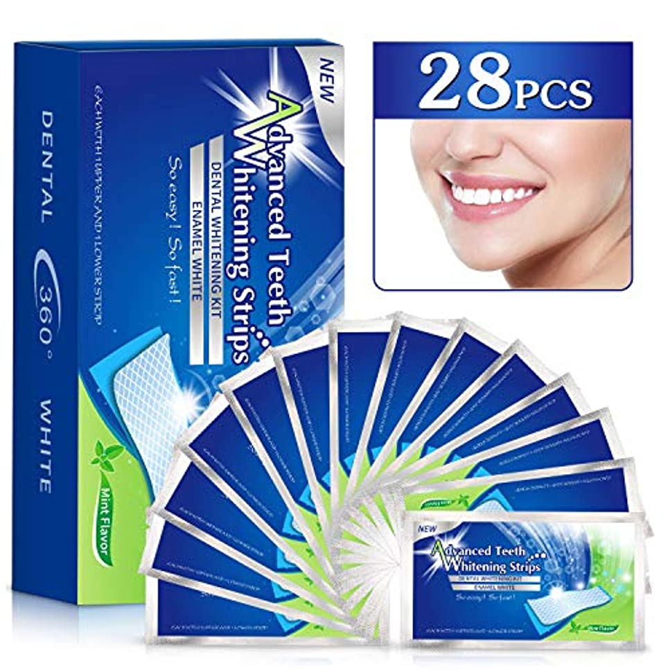 においデザート持続的COULAX 歯 美白 ホワイトニング 歯マニキュア 歯ケア テープ 14セット 28枚入