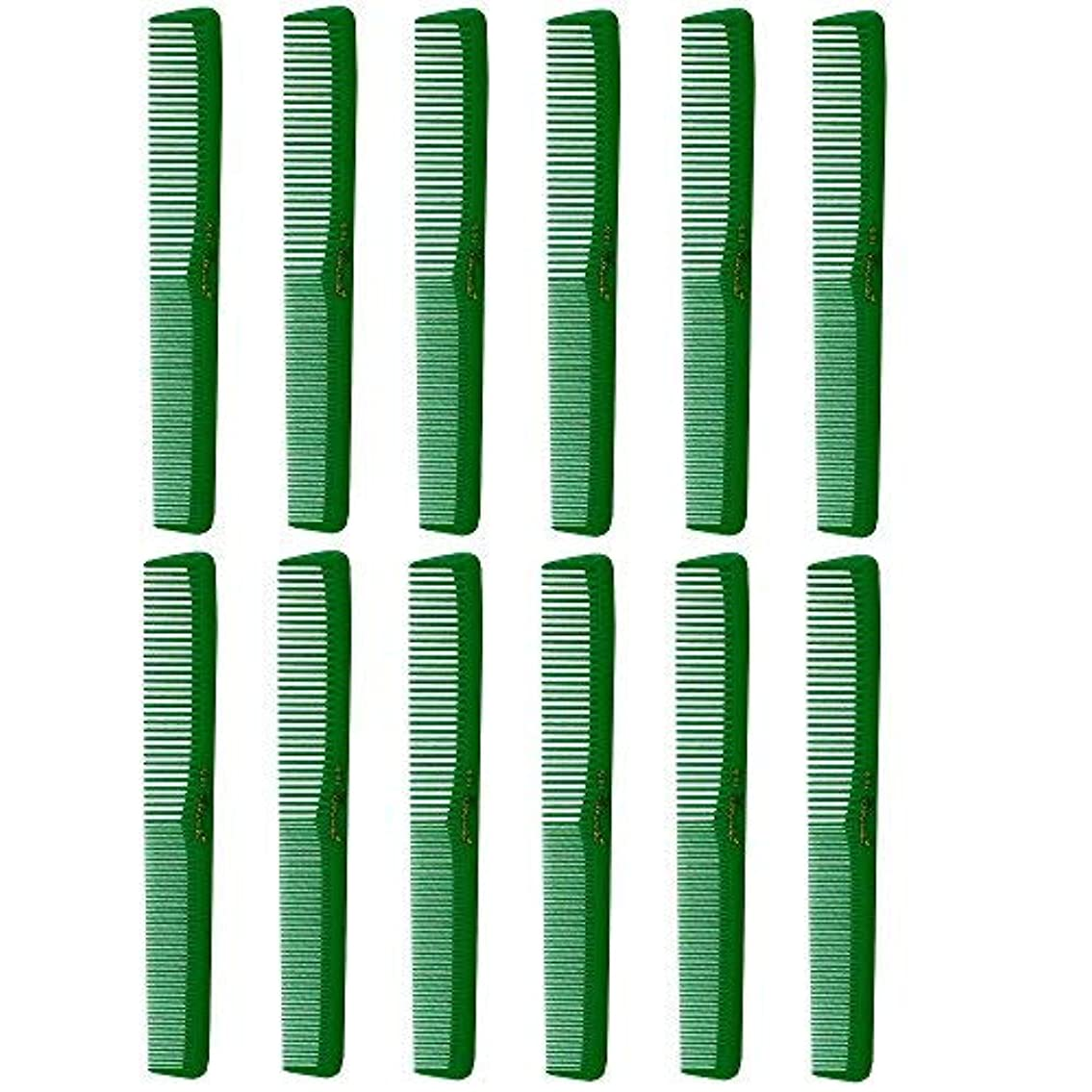リーガンまでバージンBarber Beauty Hair Cleopatra 400 All Purpose Combs (12 Pack) 12 x SB-C400-GREEN [並行輸入品]