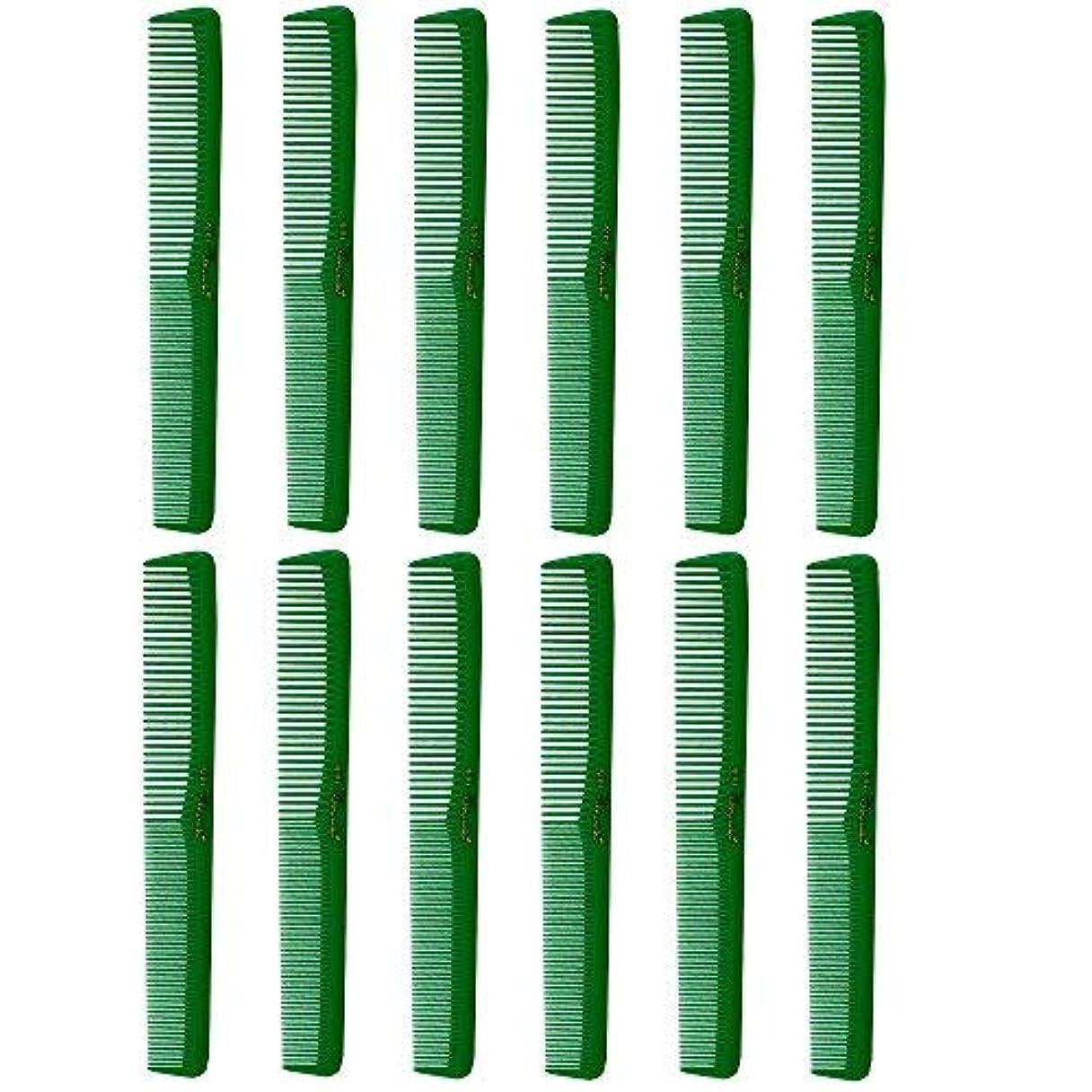 開始起訴する着替えるBarber Beauty Hair Cleopatra 400 All Purpose Combs (12 Pack) 12 x SB-C400-GREEN [並行輸入品]