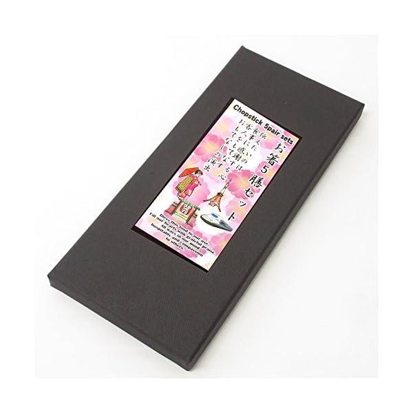 お箸 5膳セット 舞妓と東京めぐり 303-313の紹介画像2