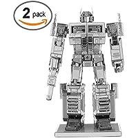 メタルステンレススチール3dパズルモデルキットロボット、練習で忍耐と注意、アートと装飾