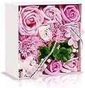 敬老の日 ソープフラワー フラワー 創意花かごギフトボックス 誕生日 母の日 記念日 先生の日 バレンタインデー 昇進 転居など最適としてのプレゼント