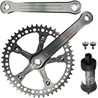 CyclingDeal CNC Alloy Fixie Single Speed Crankset With BB 48 Teeth 165mm by CyclingDeal
