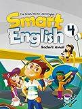 スマート イングリッシュ レベル4 教師用マニュアル CD-ROM付 【子ども 英語教材】 Smart English 4 Teacher's Manual with Resource CD-ROM