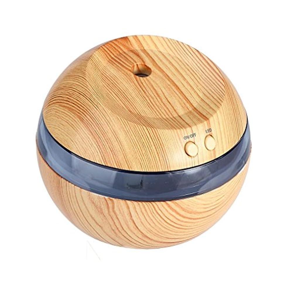 文化飛び込むサーカスHometom加湿器、LED Aromatherapy Essential Oil Diffuser超音波クールなミスト吹き出し口、290 ml