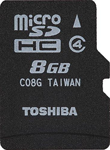 東芝 microSDHCメモリカード 8GB SD-MK008G SDHC Class4 1個