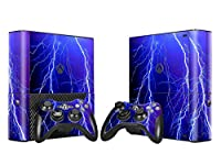 XBOX 360 E Skin Design Foils Faceplate Set - Lightning Design