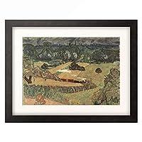 ピエール・ボナール Pierre Bonnard 「Landscape with freight train」 額装アート作品