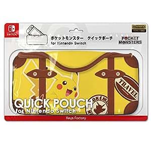 ポケットモンスター クイックポーチ for Nintendo Switch ピカチュウ