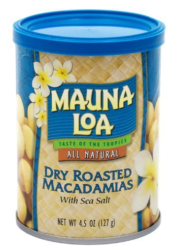 マウナロア 塩味マカデミアナッツ 缶 127g