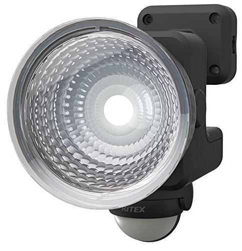 ライテックス 1.3W×1灯 フリーアーム式 LED乾電池センサーライト LED-115