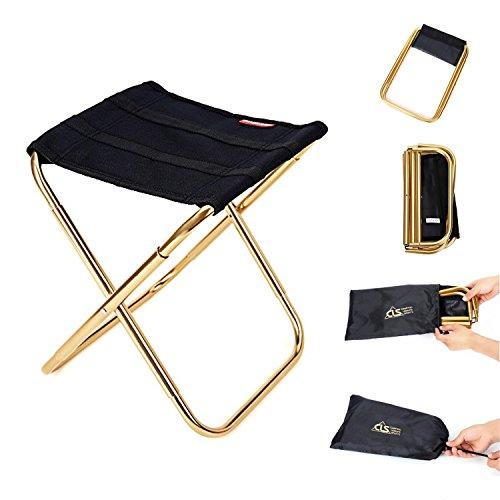 ANBURT アウトドアチェア 収納バッグ付き 折り畳み式 椅子 携帯便利 軽量 コンパクト お釣り/キャンプ/アウトドアなど対応 220X220X290mm