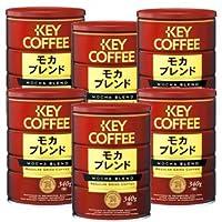 キーコーヒー 缶 モカブレンド (粉) 340G×6缶